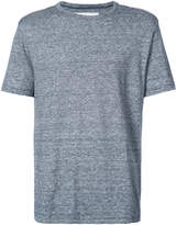 Officine Generale heather stripe T-shirt
