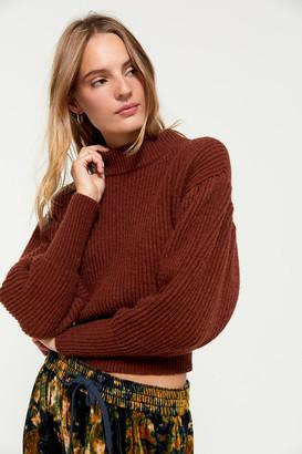 ASTR the Label Regis Mock Neck Sweater