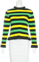 J.W.Anderson Bouclé Striped Sweater