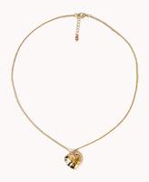 Forever 21 Hammered Heart Necklace