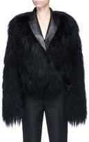 Haider Ackermann Goat shearling bomber jacket