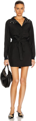 John Elliott Sail Pullover Dress in Black | FWRD