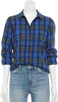 So Juniors' Flannel Shirt
