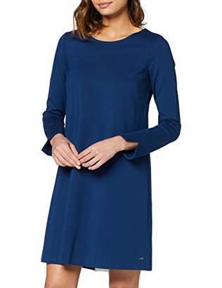 Tommy Hilfiger Women's WW0WW16867 A-Line Long Sleeve Dress - Blue