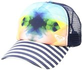 Roxy Junior's One Size Water Come Down Trucket Hat