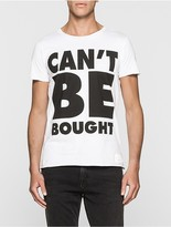 Calvin Klein #cantbebought Slim Fit T-Shirt