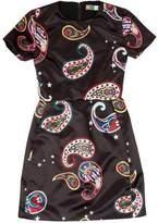 MSGM Paisley Print Mini Dress