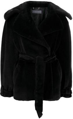 Alberta Ferretti Tie-Waist Jacket
