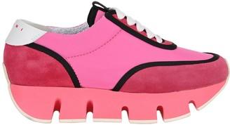 Marni Colour Block Platform Sneakers