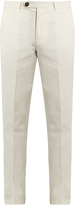 Brunello Cucinelli Casual cotton chino trousers