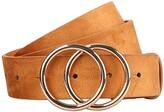 Earnda Women's Leather Belt Fashion Soft Faux Leather Waist Belts For Jeans Dress