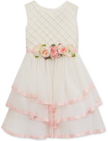 Rare Editions Tiered Skirt Dress, Big Girls (7-16)