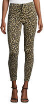 J Brand Jeans Alana High-Rise Skinny Ankle Jeans, Gold Leopard
