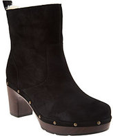 Clarks Artisan Suede Clog Boots - Ledella Abby