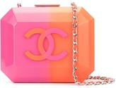 Chanel Pre Owned structured logo crossbody bag