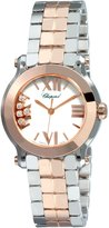 Chopard Women's 278509-6003 Happy Sport Mini Diamond Dial Watch