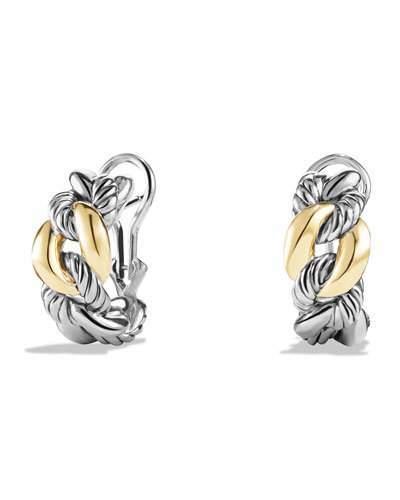 David Yurman Earrings with 18k Gold, 20mm