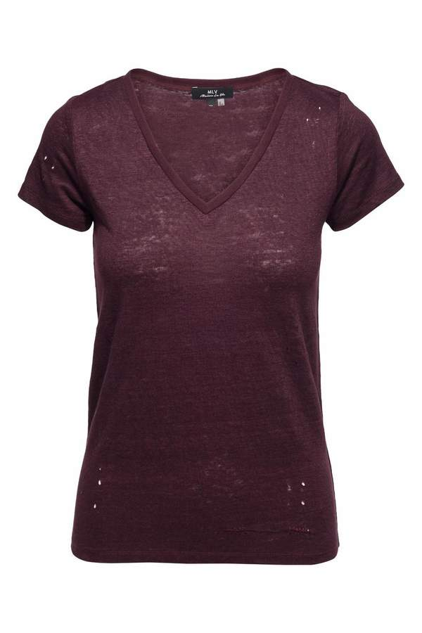 MLV Anberlin Mulberry Tee