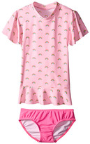 Seafolly Rainbow Chaser Sunvest Set (Infant/Toddler/Little Kids)