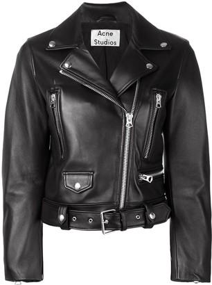 Acne Studios mock motorcycle jacket