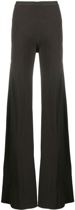 Rick Owens Mid-Rise Flared Trousers