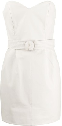 P.A.R.O.S.H. Maciock belted mini dress