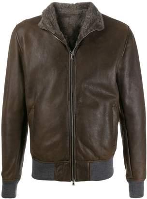 Barba shearling lining jacket