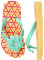 Gymboree Pineapple Flip Flops