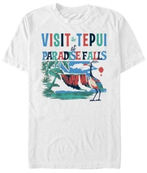 Disney Pixar Men's Up Visit Tepui at Paradise Falls, Short Sleeve T-Shirt