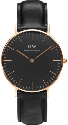 Daniel Wellington Classic Sheffield 36mm Rose Gold Watch