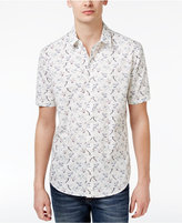 American Rag Men's Hummingbird-Print Cotton Shirt, Only at Macy's