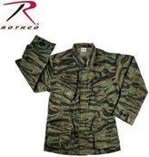 Rothco Vintage Vietnam Fatigue Shirt Rip-Stop, Camo - Large