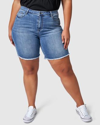 Indigo Tonic Chrissie Frayed Shorts