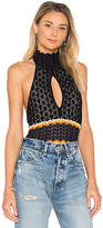 Ronny Kobo Justine Bodysuit in Black. - size L (also in M,S)
