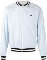 MAISON KITSUNÉ zipped bomber jacket - men - Polyester - L