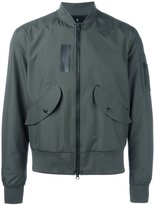 Yang Li classic bomber jacket - men - Polyester/Polyurethane/Polyamide/Spandex/Elastane - 48