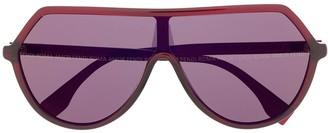 F&F FF oversized-frame sunglasses