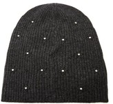 Marc Jacobs Crystal-embellished Wool-blend Beanie Hat - Womens - Grey