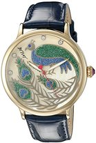 Betsey Johnson Women's BJ00496-33 Analog Display Quartz Blue Watch