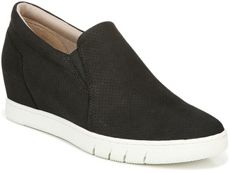 Naturalizer Hidden-Wedge Leather Sneakers - Kaya