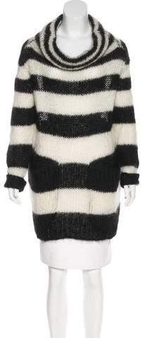 Alexander McQueen Striped Mohair Sweater