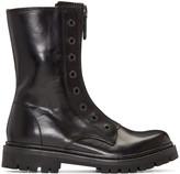 Diesel Black Gold Black Military Combat Boots