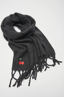 Urban Outfitters Icon Patch Nubby Scarf