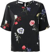 Equipment floral print top - women - Silk - XS