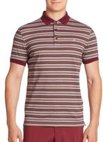 J. Lindeberg Dev Slim-Fit Pique Polo Shirt