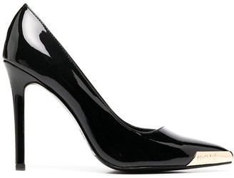 Versace Jeans Couture Pointed Toe Cap Detail Pumps