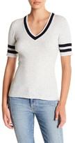 Frame Wool Blend V-Neck Sweater