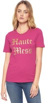 Juicy Couture Haute Mess Fashion Graphic Tee