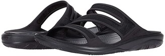 Crocs Swiftwater Telluride Sandal (Black/Black) Women's Sandals