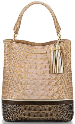 Brahmin Chiffon Roseleaf Amelia Bucket Bag